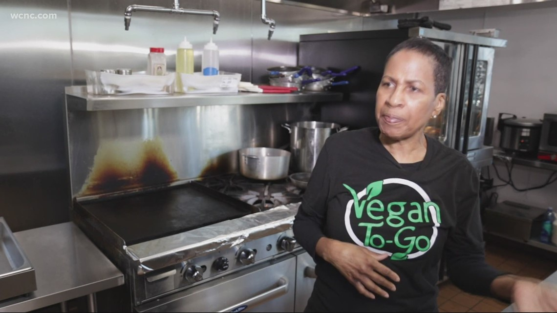 Charlotte chef brings vegan restaurant to communities of color