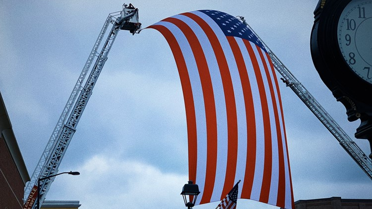 Honoring a hero: Fallen Mooresville officer Jordan Sheldon to be laid to rest