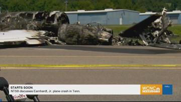 RAW: NTSB discussing Dale Earnhardt Jr plane crash