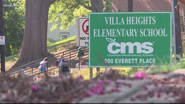 Man fires gun at mom dropping off child at Villa Heights Elementary