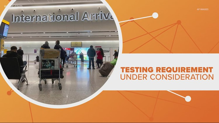 Soon, you might have to have a negative COVID test to fly in the U.S.