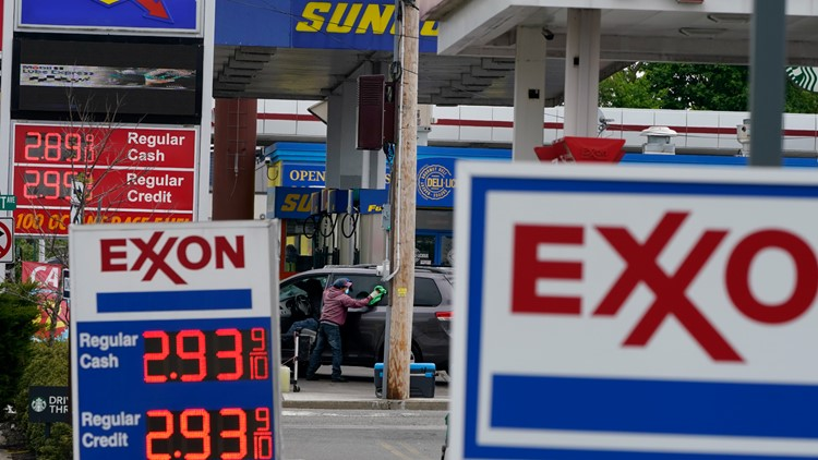 Gas prices up more than 40% since the start of 2021