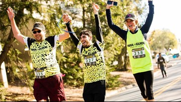 Visually impaired athletes to run in Charlotte half marathon thanks to local non-profit