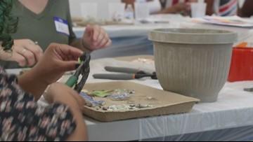 Art workshop brings at-risk teens, police together