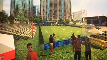 House of Soccer comes to Charlotte Friday