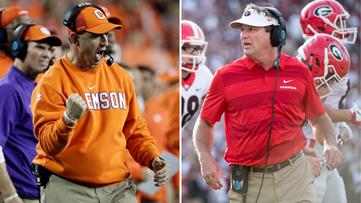 Clemson, Georgia to open 2021 college football season in Charlotte