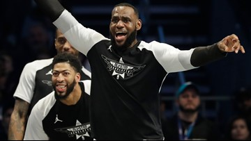 Team LeBron rallies, wins All-Star game 178-164