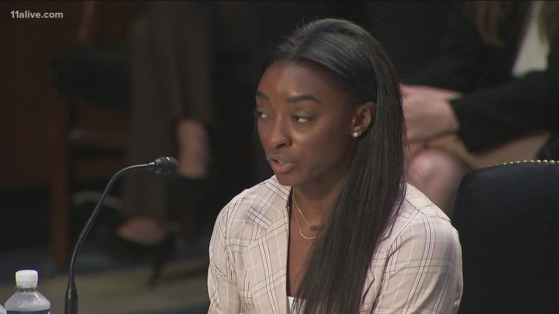 Simone Biles: FBI turned a 'blind eye' to reports of sexual abuse
