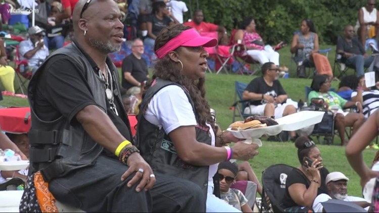 'It's all about recycling love': Charlotte Day celebration brings people together at Freedom Park