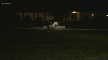 Pilot walks away unharmed from plane crash in Matthews