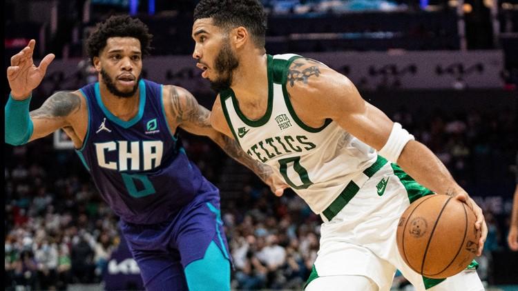 Hornets lose to Celtics in overtime, breaking winning streak