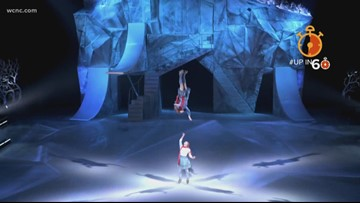 Up in 60: Behind the scenes of Cirque du Soleil's new show