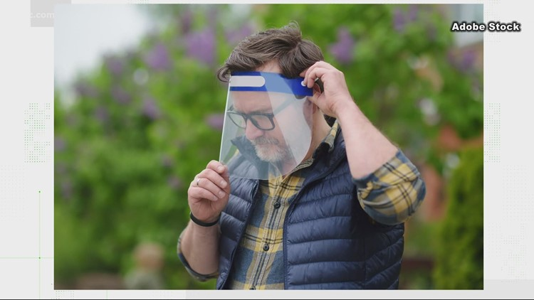 VERIFY: Face shields aren't as protective as face masks