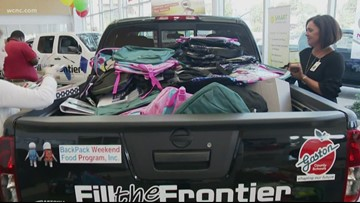Fill the Frontier Drive: Gastonia Nissan helps local students