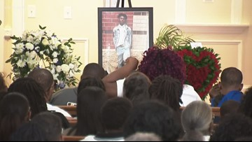 Service held today for student killed at Butler High School