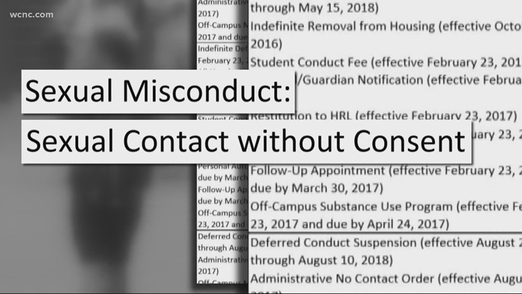 Defenders: UNCC sexual misconduct allegations result in discipline roughly 50% of the time