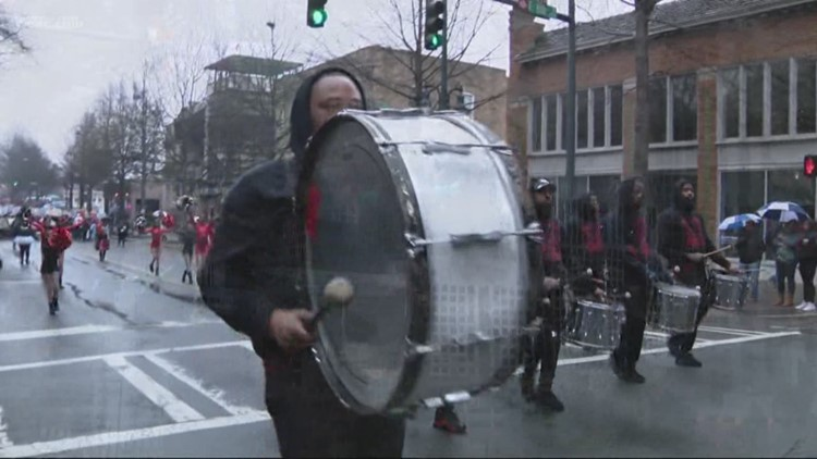 Martin Luther King Junior parade held in uptown Charlotte