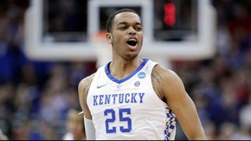 Hornets select Kentucky forward P.J. Washington with No. 12 pick in NBA Draft