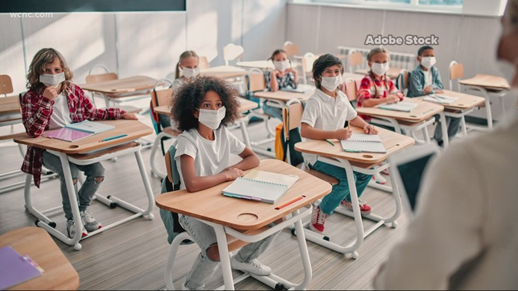 NC COVID-19 study on schools finds masking important, social distancing & quarantine less useful when masking