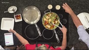 Recipe: Shrimp picatta over zucchini noodles