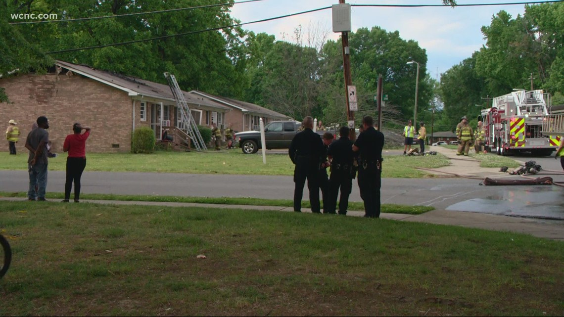 Officials investigating cause of duplex fire