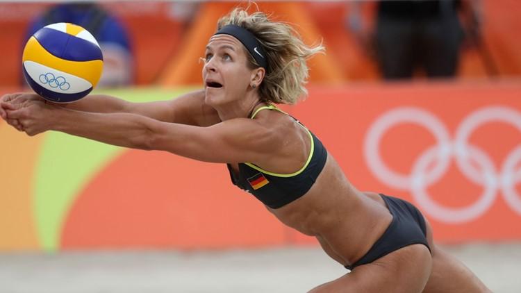 Why do beach volleyball athletes wear bikinis?