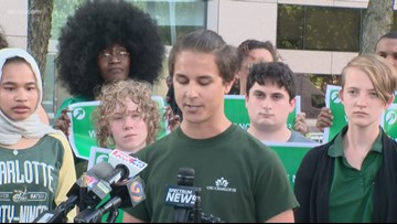 UNCC students call for change, end to gun violence