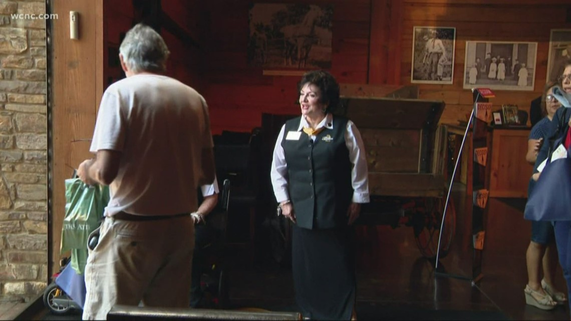 Carolina Has Heart: Woman has volunteered at Billy Graham Library from the beginning