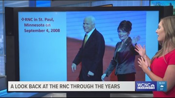 A look back at the RNC throughout the years