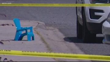 Two-year-old struck by car in Steele Creek