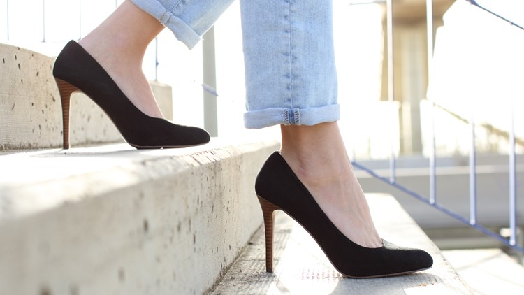 Looks over comfort? High heels are once again flying off the shelves