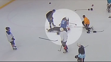Miracle on ice: Doctor saves man who had heart attack during Pineville hockey game