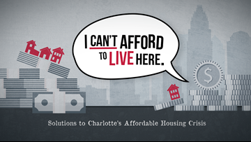 I can't afford to live here | An in-depth look at Charlotte's affordable housing crisis