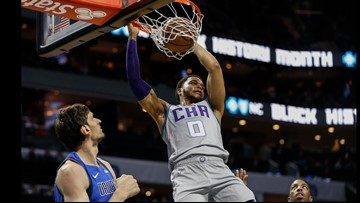 Hornets beat Pistons for 10th straight time