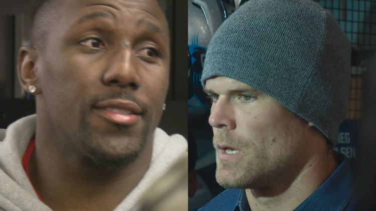 Signing one-day contracts, Greg Olsen and Thomas Davis leave pro football as Panthers