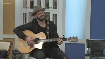 Country singer Ryan Trotti becoming Charlotte's next big thing