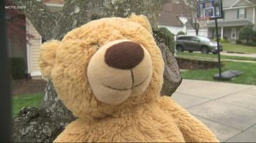 Cornelius neighborhood gets creative keeping kids busy during quarantine