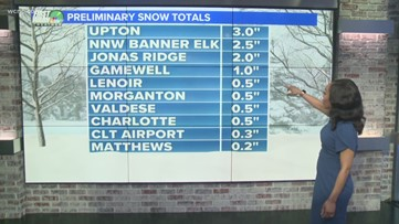 11 p.m. Update: Snow accumulations, black ice, and chilly temperatures
