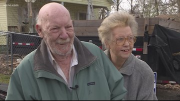 Gaston County community rallies around couple for new roof