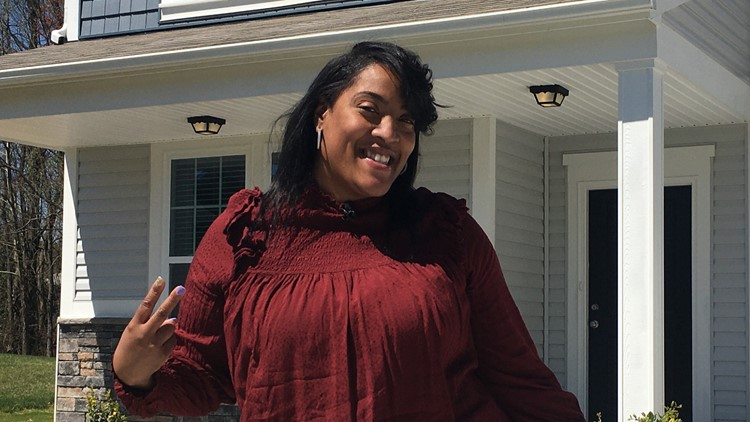 'It can be done' | Initially denied a mortgage, Black first-time homebuyer gets keys to her own house