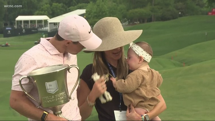 McIlroy wins another Wells Fargo Championship, marking a sweet Mother's Day
