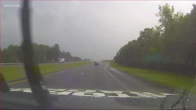 Tracking rain, severe weather moving through the Carolinas