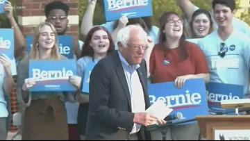 Bernie Sanders visits Winthrop University
