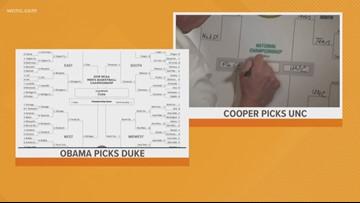 Barack Obama picks Duke to win NCAA Tournament over North Carolina