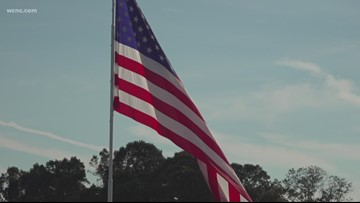 Fight over huge American flag in Statesville