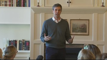 Beto O'Rourke making first campaign stop in South Carolina
