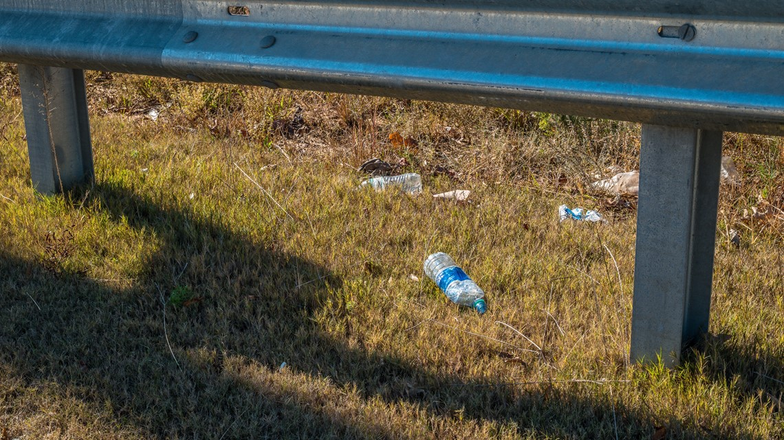 2021 is the worst year for roadside litter in North Carolina