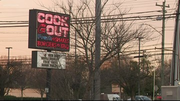 CMPD investigating robbery at east Charlotte Cookout
