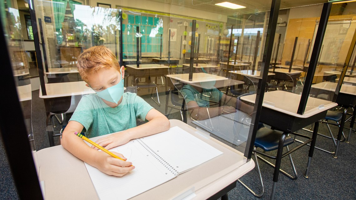 How kids are adjusting to going back to school amid a pandemic