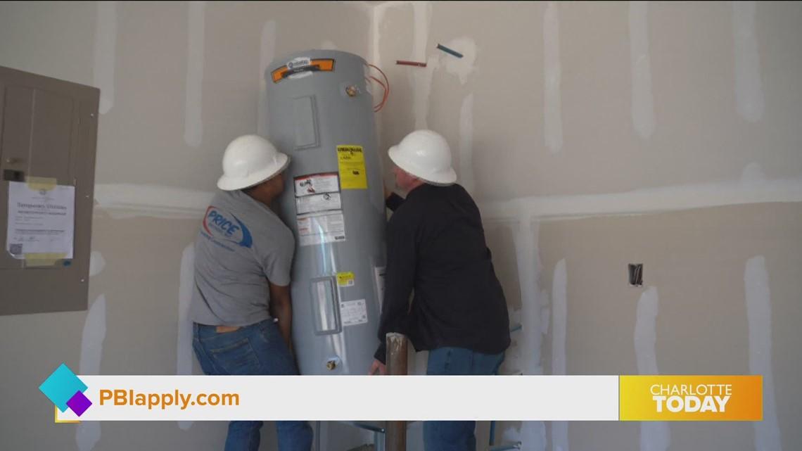 Start your career in new construction plumbing